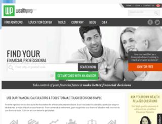 wealthprep.ca screenshot