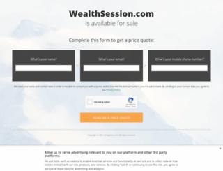 wealthsession.com screenshot