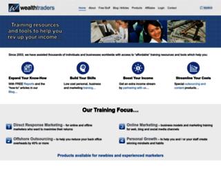 wealthtraders.com screenshot