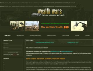 wealthwars.net screenshot