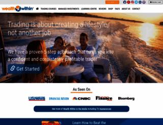 wealthwithin.com.au screenshot