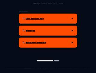 weaponsandwarfare.com screenshot