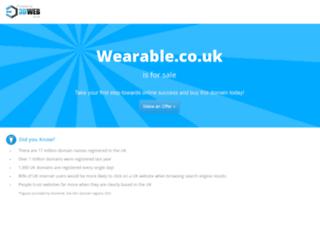 wearable.co.uk screenshot