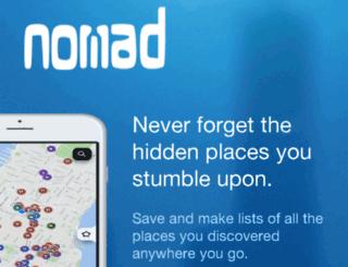 weareallnomads.com screenshot