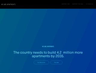 weareapartments.org screenshot