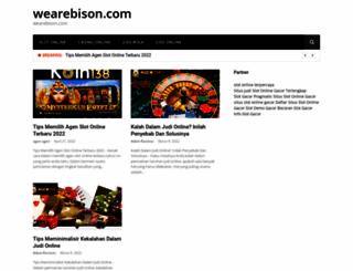 wearebison.com screenshot