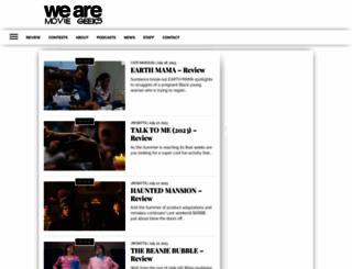 wearemoviegeeks.com screenshot