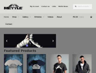 wearmettle.com screenshot