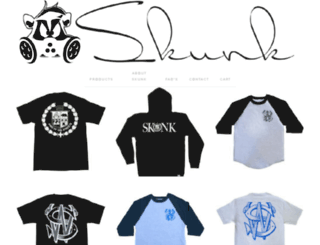 wearskunk.com screenshot