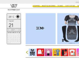 wearthistoday.com screenshot
