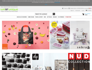 wearunique.com screenshot