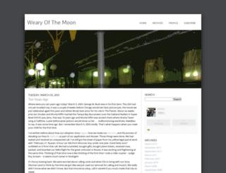 wearyofthemoon.typepad.com screenshot