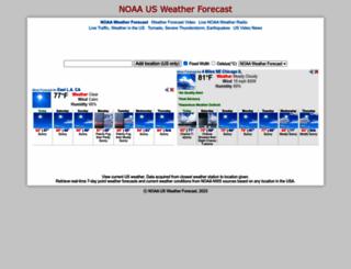 weather-usa.kwebpia.net screenshot