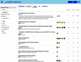 weather-watch.com screenshot