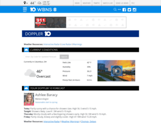 weather.10tv.com screenshot