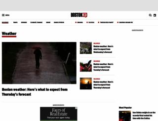 weather.boston.com screenshot