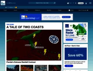 weather.com screenshot