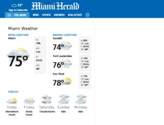 weather.herald.com screenshot