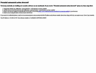 weather.heraldsun.com.au screenshot
