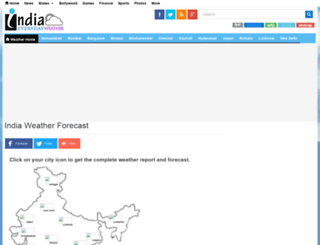 weather.indiaeveryday.in screenshot