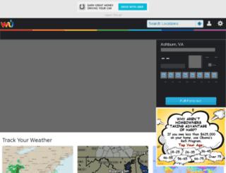 weather.marylandweather.com screenshot