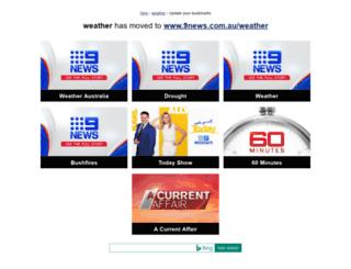 weather.ninemsn.com.au screenshot