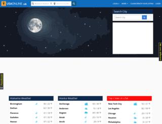 weather.usaonline.us screenshot