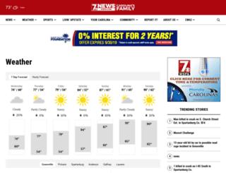 weather.wspa.com screenshot