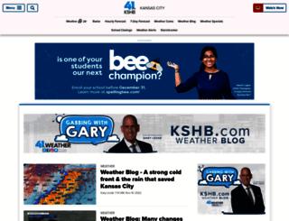 weatherblog.kshb.com screenshot