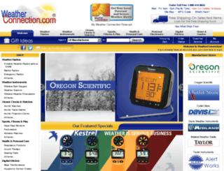 weatherconnection.com screenshot