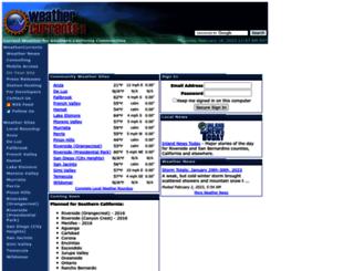 weathercurrents.com screenshot