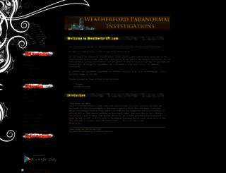 weatherfordpi.com screenshot