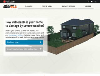 weathergonewild.cbc.ca screenshot