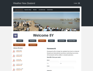weathernz.weebly.com screenshot