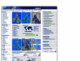 weatheronline.co.uk screenshot