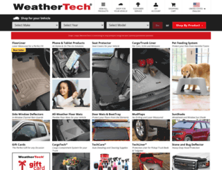 weathertech.com screenshot
