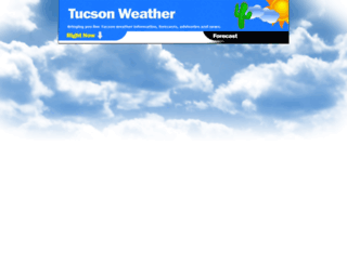 weathertucson.com screenshot