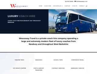 weavaway.co.uk screenshot