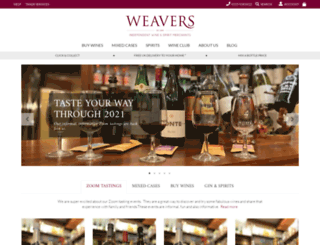 weaverswines.com screenshot