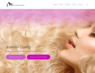 weaveshairextensions.co.uk screenshot