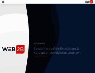 web-2b.de screenshot