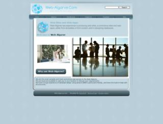 web-algarve.com screenshot