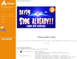 web-archive-net.com screenshot