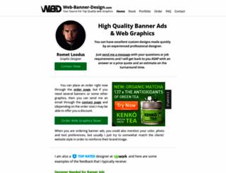 web-banner-design.com screenshot
