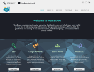 web-brain.co.uk screenshot