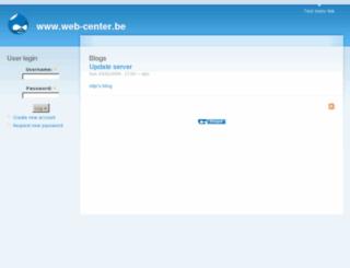 web-center.be screenshot