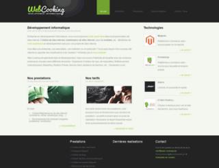 web-cooking.net screenshot
