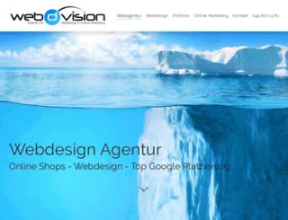 web-d-vision.ch screenshot