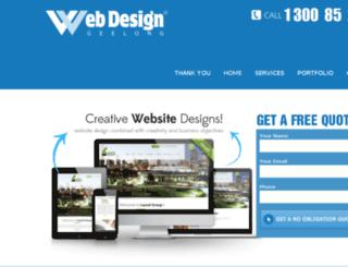 web-design-geelong.com.au screenshot