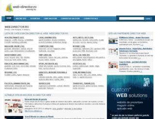 web-director.ro screenshot